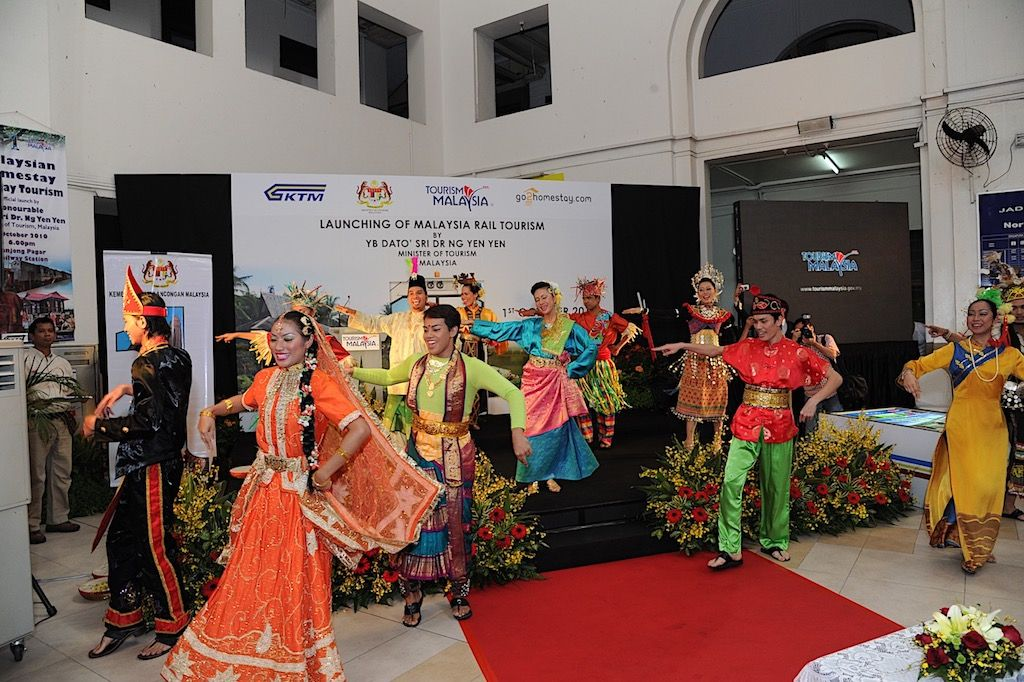 Launch of Malaysia Rail Tourism Entertainment