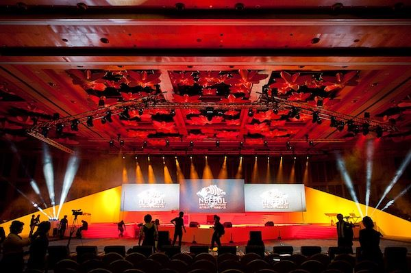 Nefful Awards 2014 Awards Ceremony and Fashion Show Stage Setup