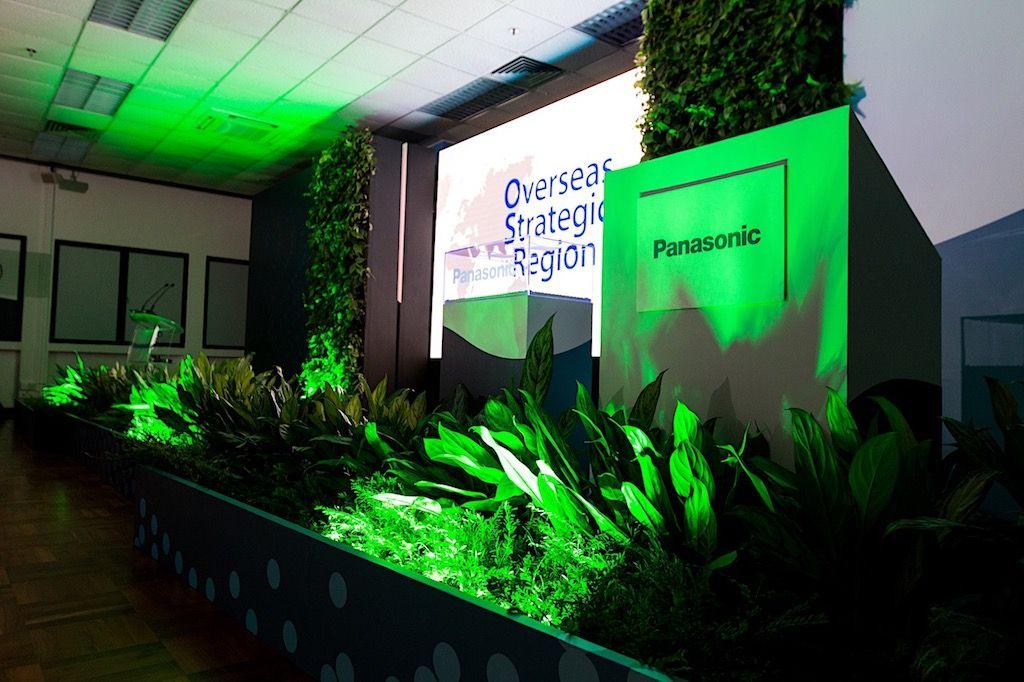 Panasonic RCBU Launch Stage Setup