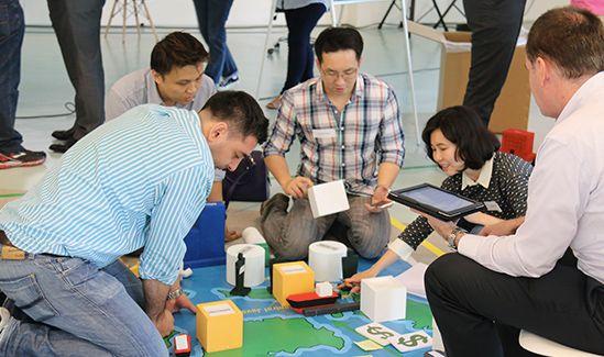 chameleon global events project BP team building