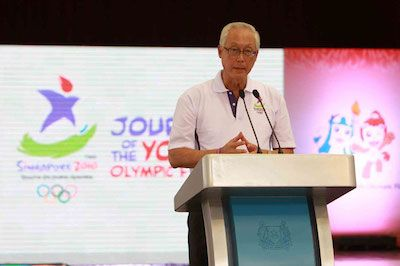 chameleon global events youth olympic games speech